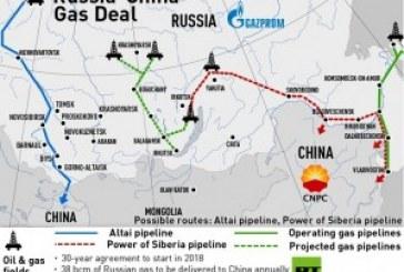 OLEODOTTO CINA – RUSSIA: 7 TONNELLATE DI GREGGIO NEL PRIMO SEMESTRE 2015