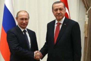 INCONTRO PUTIN-ERDOGAN SULLE PROSPETTIVE DEL GASDOTTO TURKISH STREAM