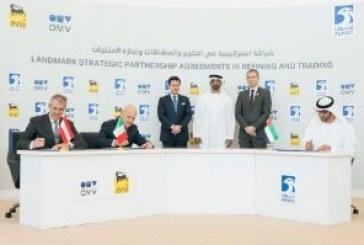 ABU DHABI: L'ENI RILEVA IL 20% DI ADNOC REFINING PER 3,3 MILIARDI DI DOLLARI